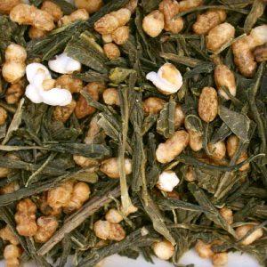 Organic Genmaicha green tea organic