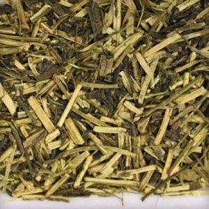 Green Kukicha japanese tea