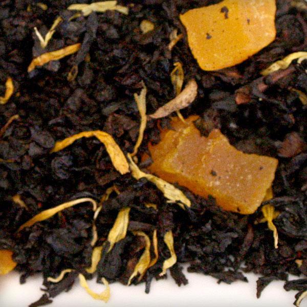 loose leaf black tea mango bulk