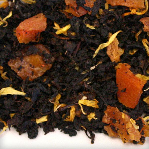black tea bulk peach apricot