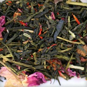 Rose Sencha green tea