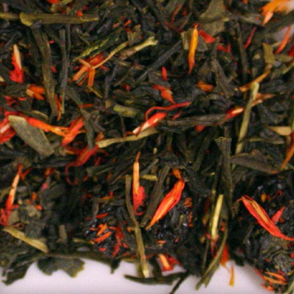 Cherry Sencha green tea blend