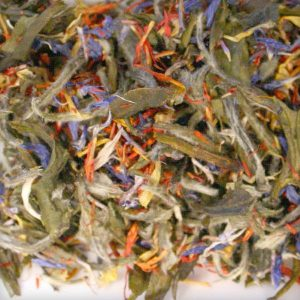 White tea blend Midnight Blue Bai Mu Dan
