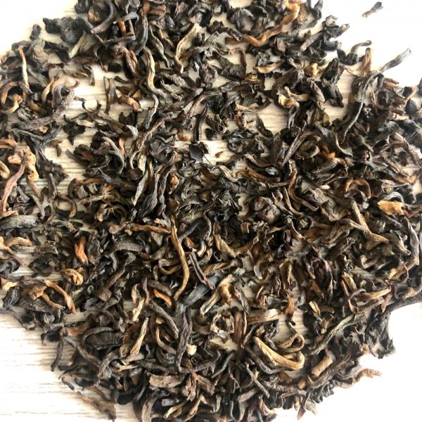 organic pu-erh loose leaf tea