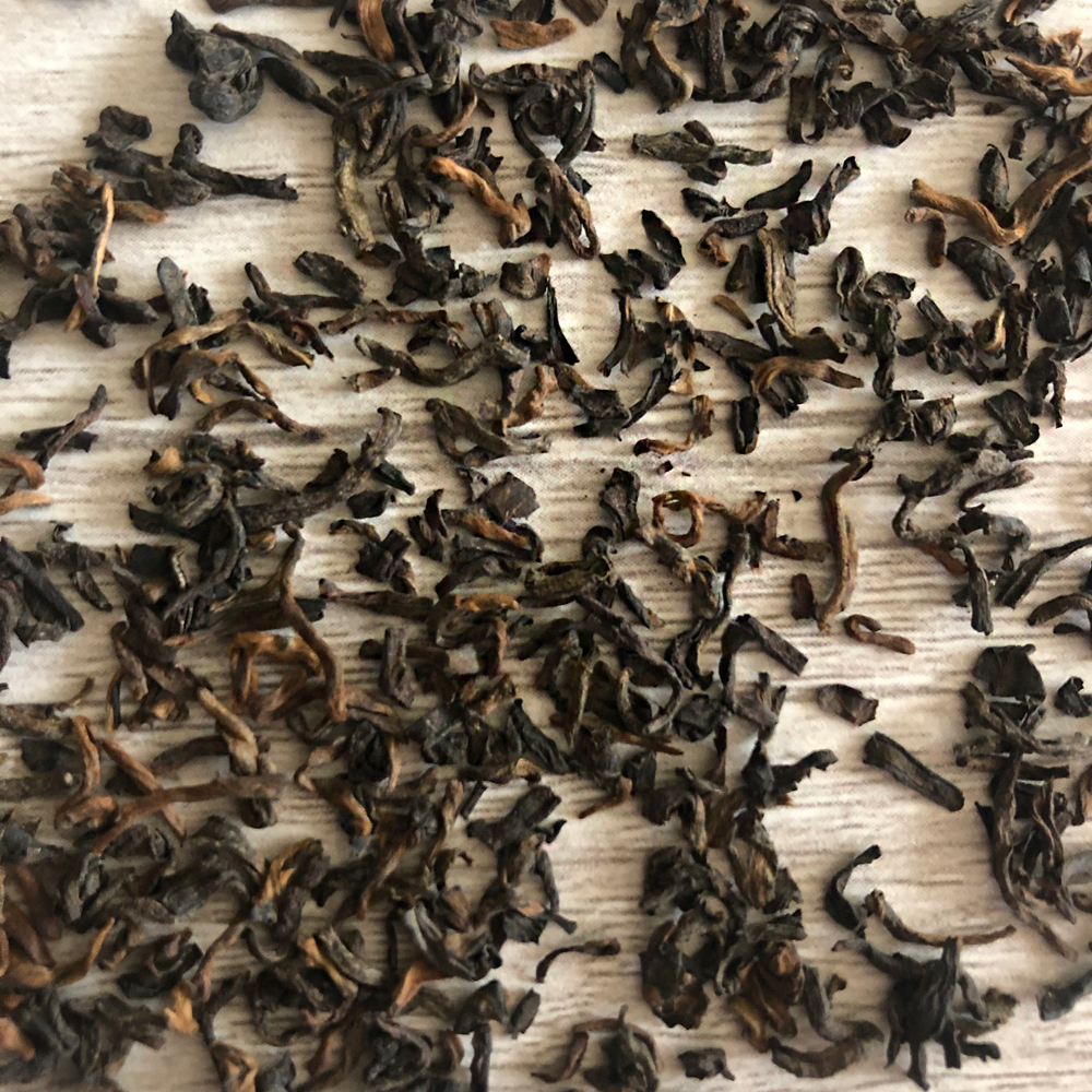 organic pu-erh loose leaf tea
