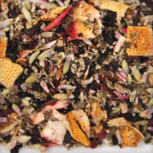 Raspberry Lavender herbal tea