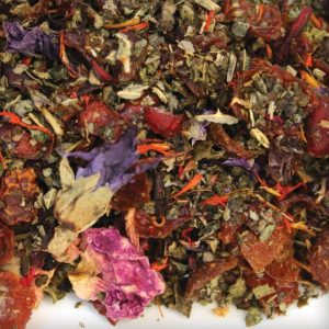 herbal tea bulk rose blueberry