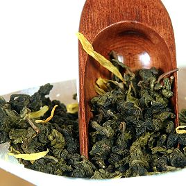 Green Oolong tea Passion Fruit