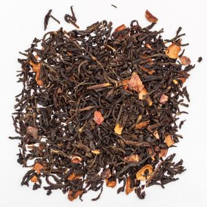 black colombian tea with cacao