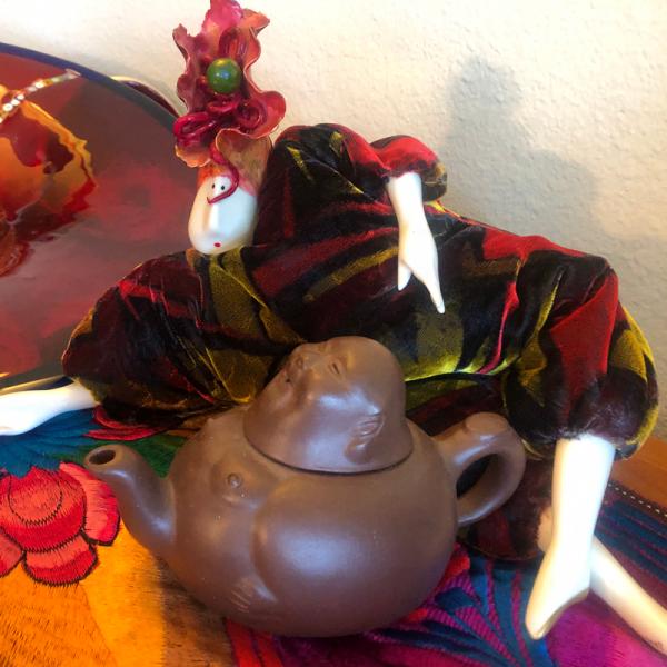 Yixing Teapot Collectables Buddha