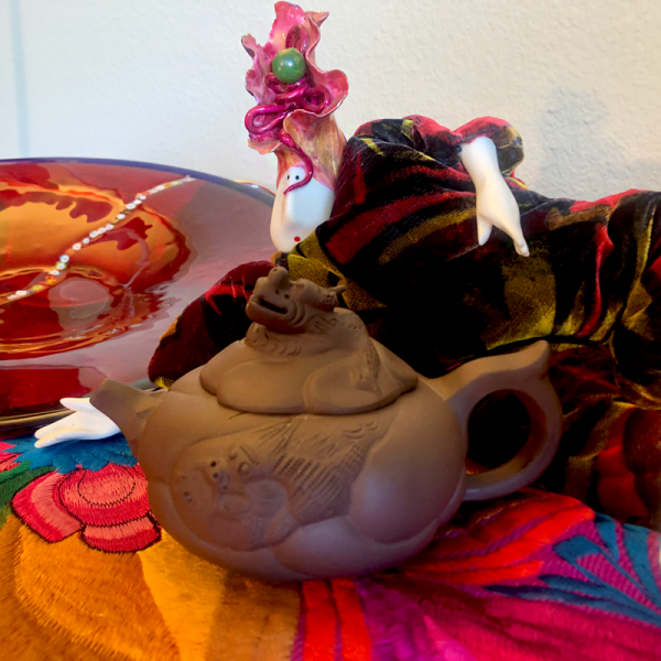 Yixing Teapot Collectables Dragon