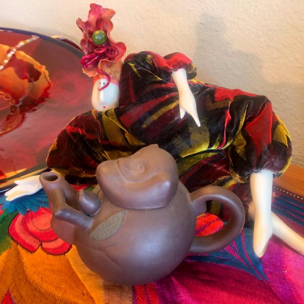 Yixing Teapot Collectables Monkey